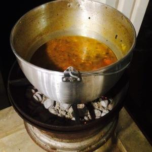 Lekkere vlees soep van Soup At Ness